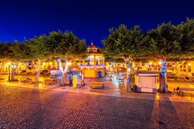 Χωριό σιλό Los Tenerife isalnd στοκ φωτογραφίες