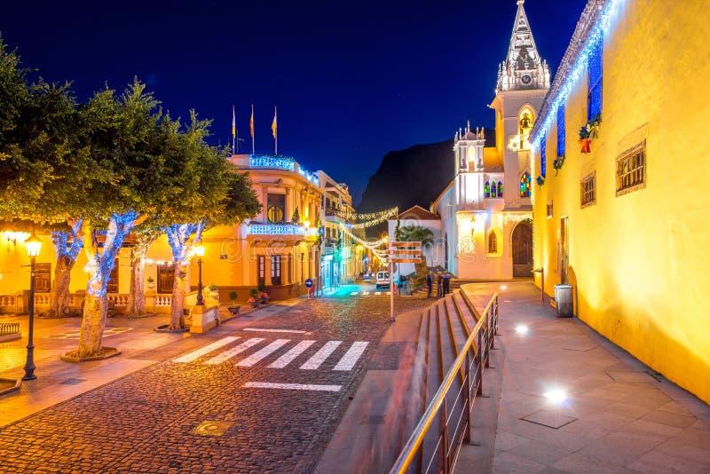 Χωριό σιλό Los Tenerife isalnd στοκ φωτογραφίες με δικαίωμα ελεύθερης χρήσης