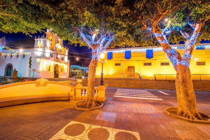 Χωριό σιλό Los Tenerife isalnd στοκ εικόνα