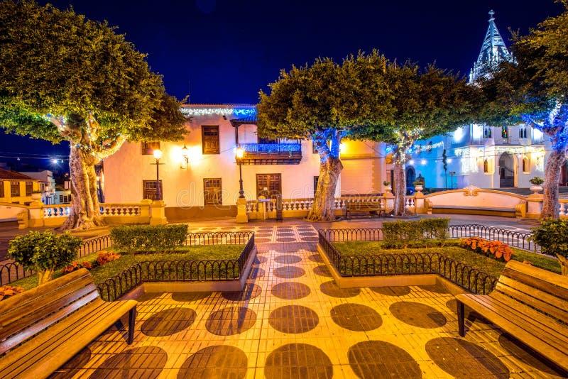 Χωριό σιλό Los Tenerife isalnd στοκ εικόνες