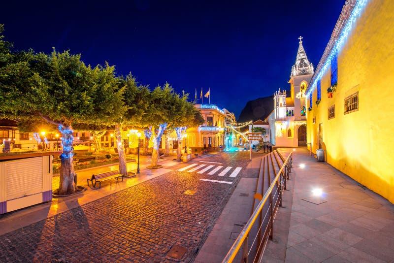 Χωριό σιλό Los Tenerife isalnd στοκ εικόνα με δικαίωμα ελεύθερης χρήσης