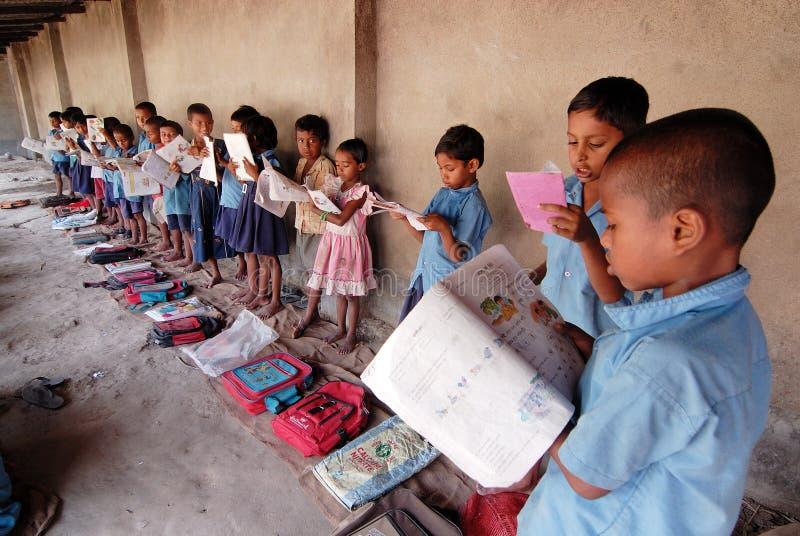 χωριό σπουδαστών στοκ εικόνα