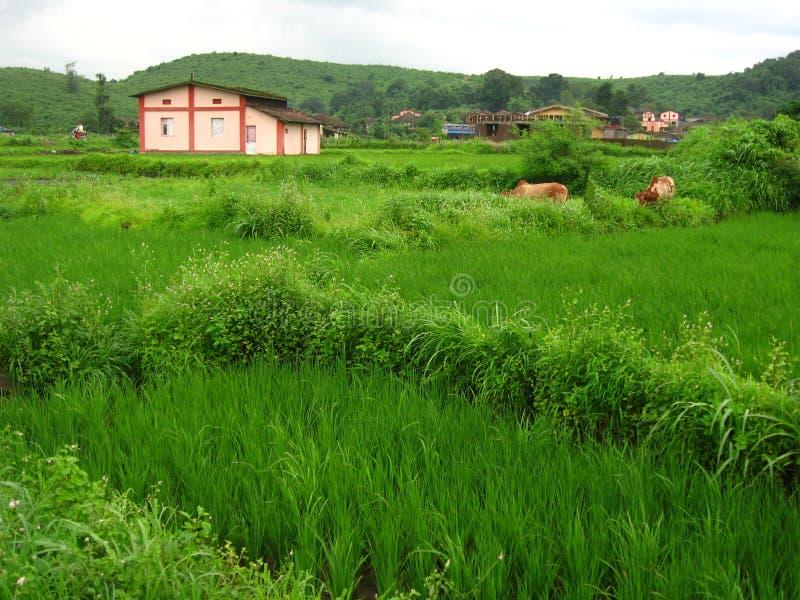 Χωριό στην επαρχία στοκ φωτογραφίες