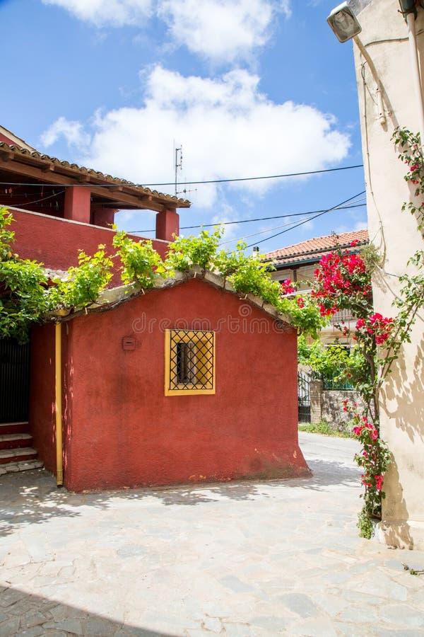 Χωριό στην Κέρκυρα στοκ φωτογραφίες με δικαίωμα ελεύθερης χρήσης