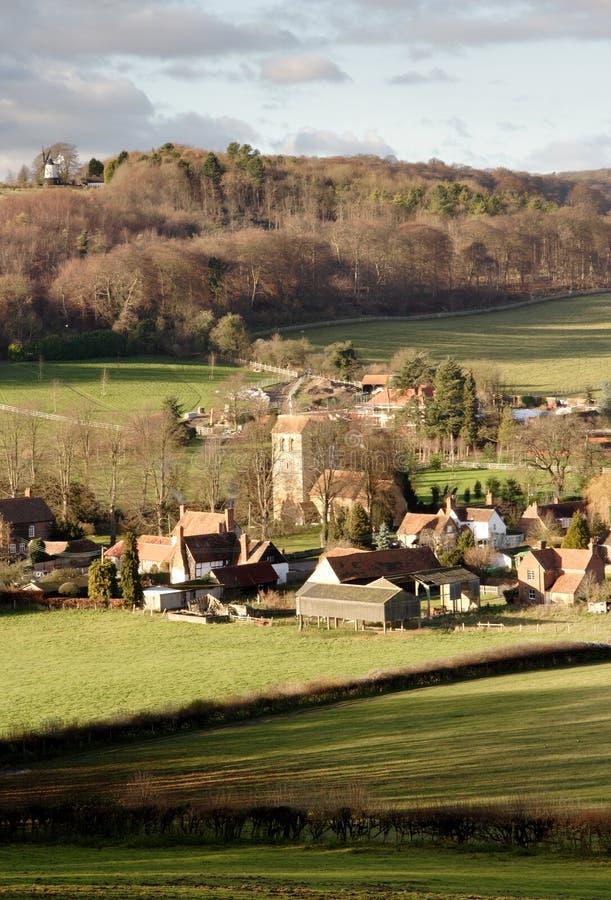 χωριό της Αγγλίας στοκ φωτογραφίες