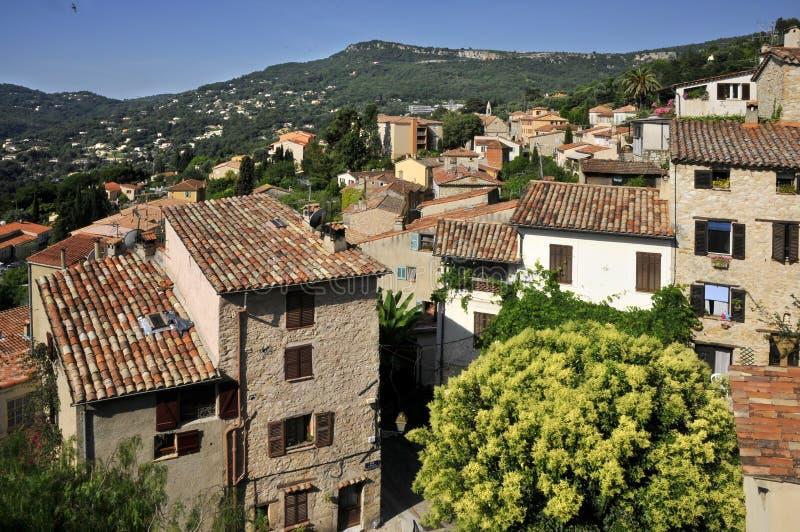 χωριό της Γαλλίας LE loup ράβδων  στοκ εικόνα