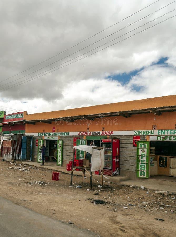Χωριό της Κένυας στοκ φωτογραφία με δικαίωμα ελεύθερης χρήσης