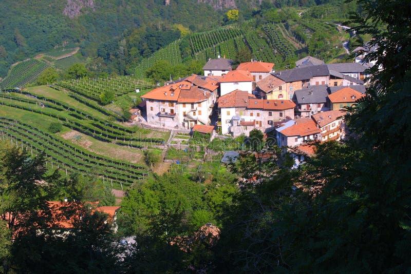 χωριό της Τοσκάνης στοκ φωτογραφία με δικαίωμα ελεύθερης χρήσης