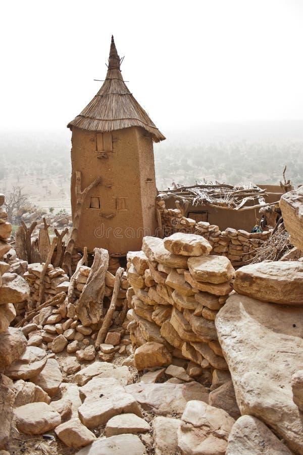 χωριό του Μαλί σιτοβολών&ome στοκ εικόνες με δικαίωμα ελεύθερης χρήσης