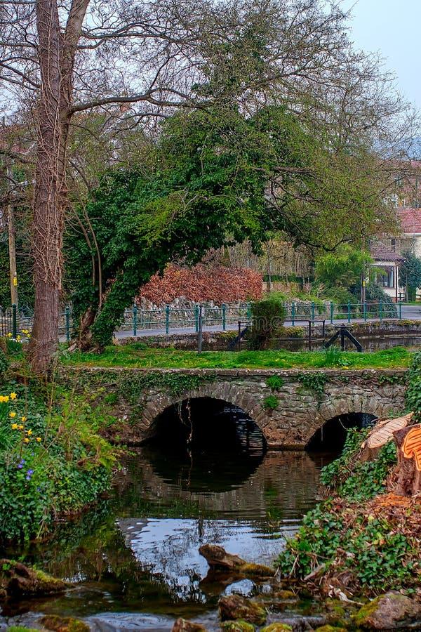 Χωριό τυριού Cheddar, Somerset, UK στοκ εικόνες