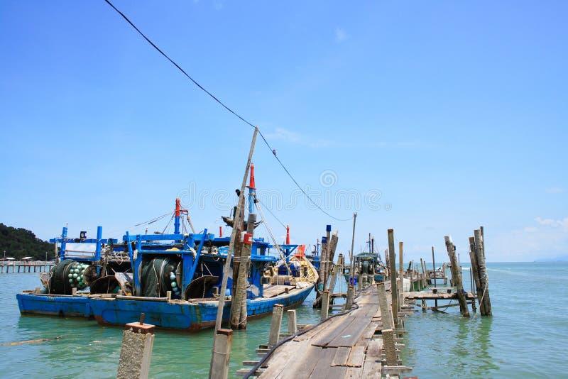 χωριό ψαράδων στοκ εικόνες με δικαίωμα ελεύθερης χρήσης