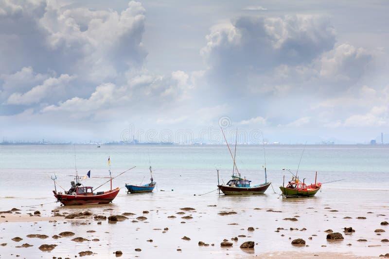 Χωριό ψαράδων στοκ εικόνα