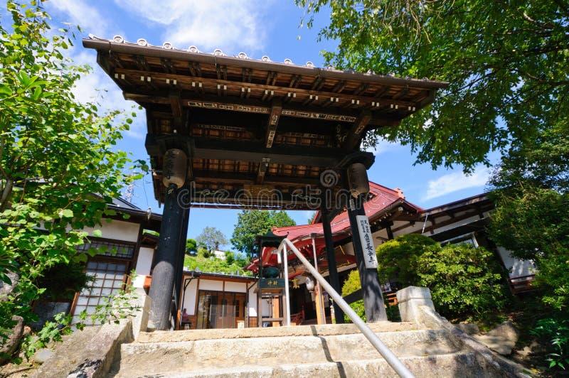 Χωριό Achi στο Ναγκάνο, Ιαπωνία στοκ φωτογραφία με δικαίωμα ελεύθερης χρήσης