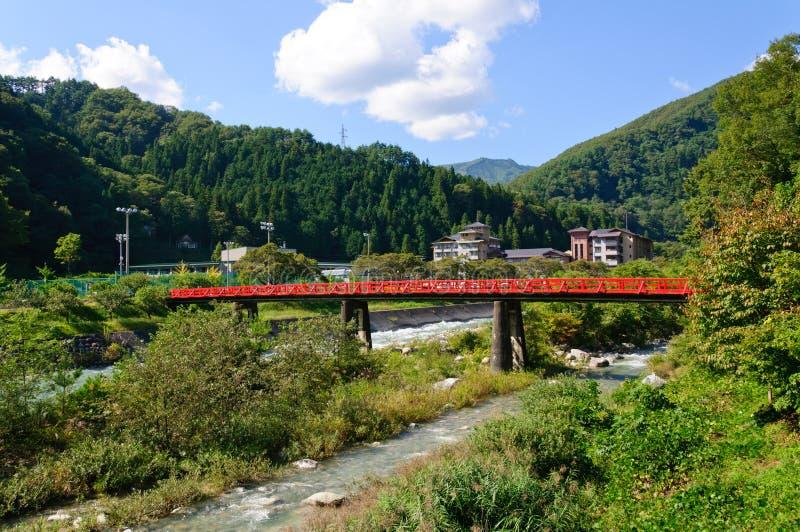 Χωριό Achi στο Ναγκάνο, Ιαπωνία στοκ εικόνες