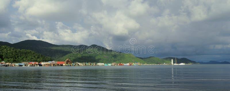 χωριό bao κτυπήματος στοκ εικόνες