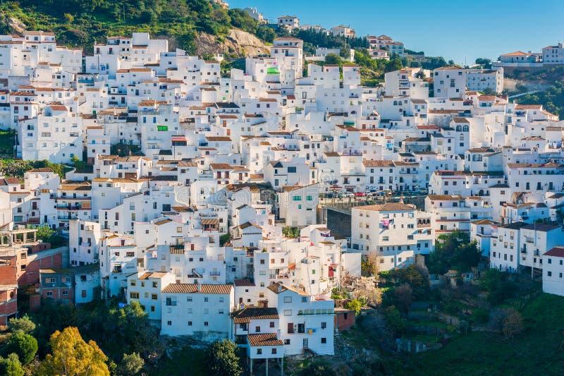 Χωριό Casares Ισπανία στοκ φωτογραφίες με δικαίωμα ελεύθερης χρήσης