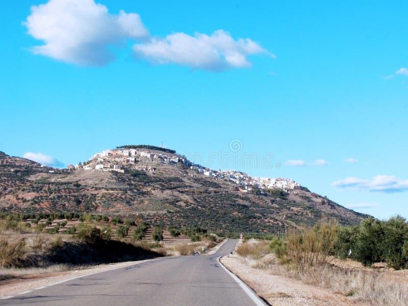 Χωριό Chiclana de Segura στο Jae'n, Ανδαλουσία Ισπανία στοκ εικόνα με δικαίωμα ελεύθερης χρήσης