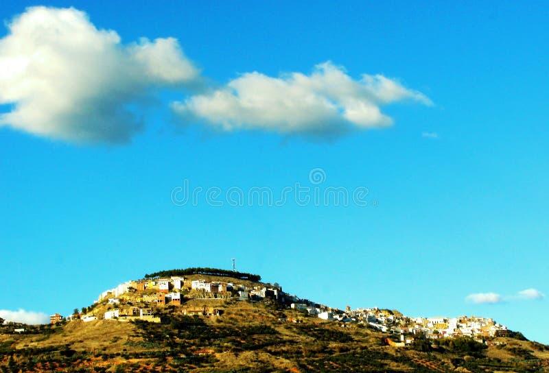 Χωριό Chiclana de Segura στο Jae'n στοκ εικόνα