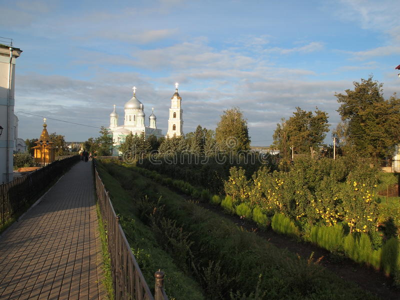 Χωριό Diveevo στοκ φωτογραφία με δικαίωμα ελεύθερης χρήσης