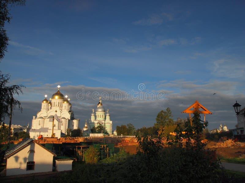 Χωριό Diveevo στοκ φωτογραφίες