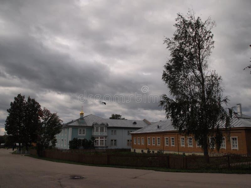 Χωριό Diveevo στοκ εικόνες