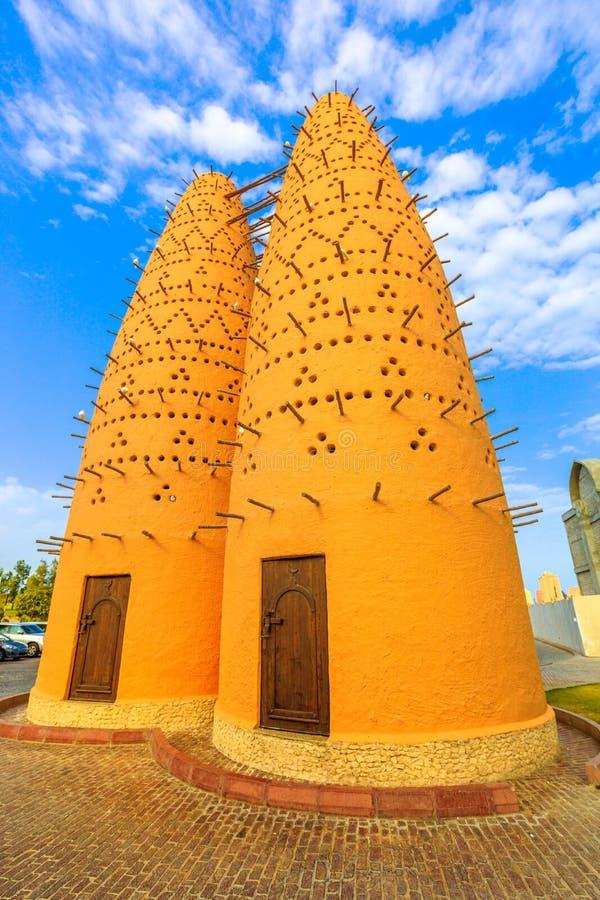 Χωριό Katara πύργων περιστεριών στοκ εικόνες με δικαίωμα ελεύθερης χρήσης