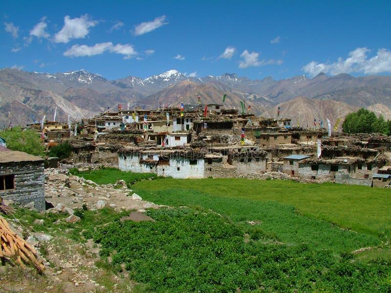 χωριό nako στοκ εικόνα με δικαίωμα ελεύθερης χρήσης