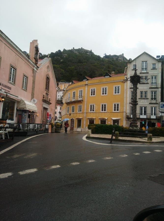 Χωριό Sintra στοκ φωτογραφία με δικαίωμα ελεύθερης χρήσης