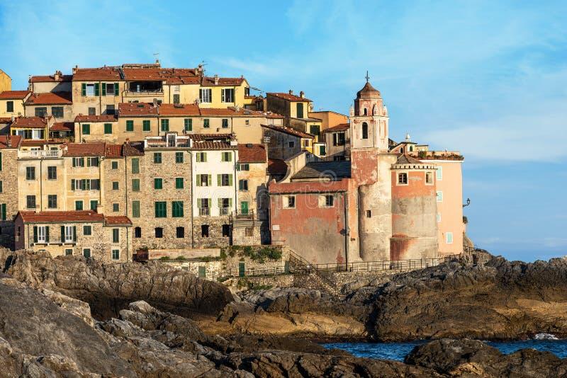 Χωριό Tellaro - Λα Spezia Λιγυρία Ιταλία στοκ εικόνες