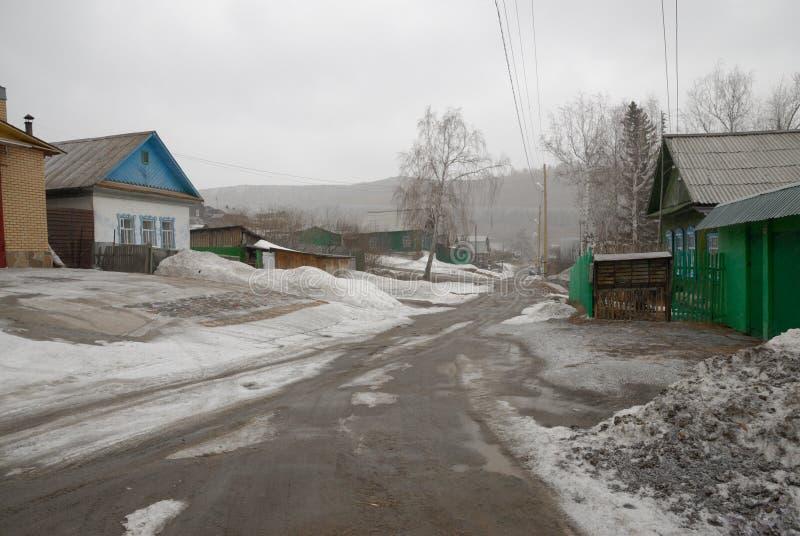 Χωριό Vishnevogorsk στοκ εικόνες με δικαίωμα ελεύθερης χρήσης