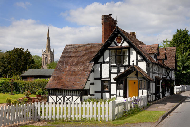Χωριό Worcestershire στοκ φωτογραφία με δικαίωμα ελεύθερης χρήσης