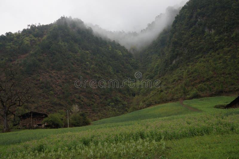 Χωριό Wuli στοκ εικόνες