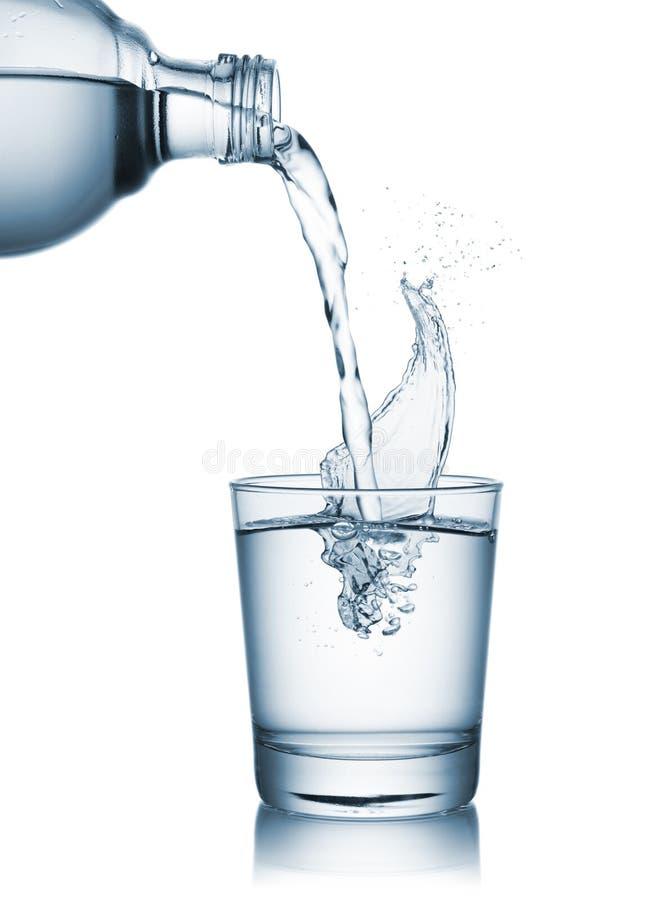 χύνοντας ύδωρ γυαλιού στοκ φωτογραφία με δικαίωμα ελεύθερης χρήσης