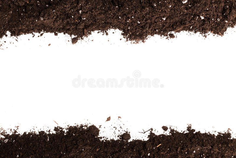 Χώμα ή τμήμα ρύπου στοκ φωτογραφίες με δικαίωμα ελεύθερης χρήσης