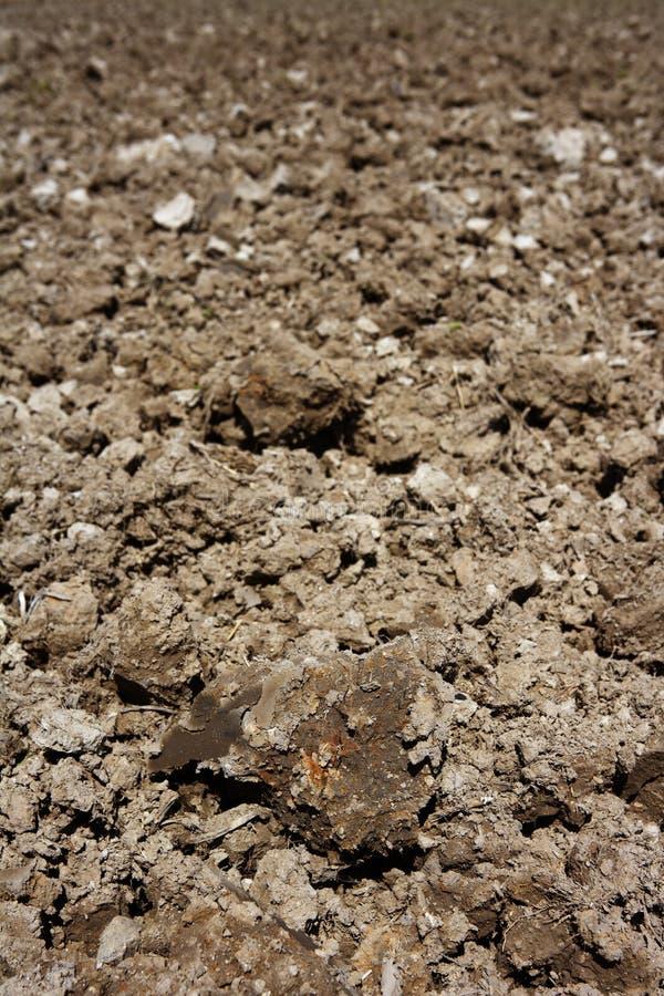 χώμα αρότρων αρότρων προοπτι στοκ εικόνα με δικαίωμα ελεύθερης χρήσης