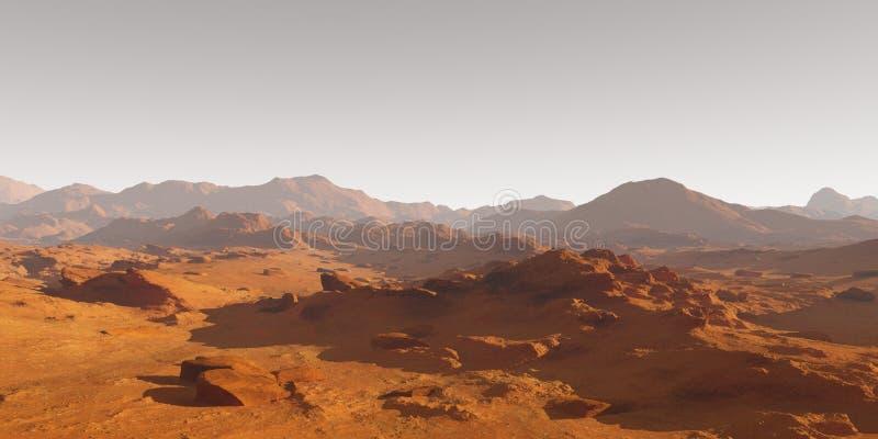 Χώμα του Άρη απεικόνιση αποθεμάτων