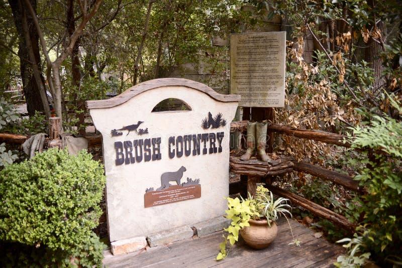 Χώρα βουρτσών στο ζωολογικό κήπο του Fort Worth, Fort Worth, Τέξας στοκ φωτογραφία με δικαίωμα ελεύθερης χρήσης