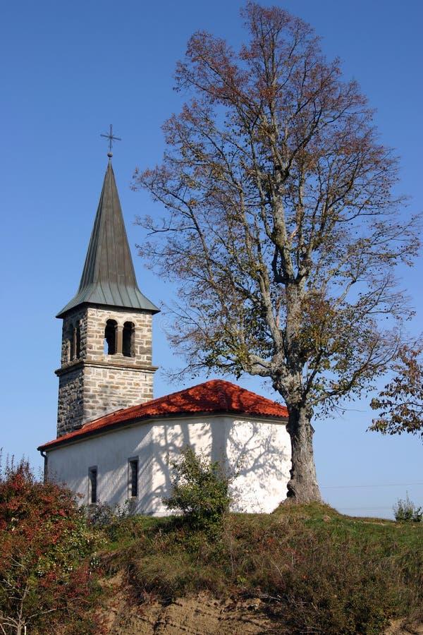 Download χώρα εκκλησιών μικρή στοκ εικόνα. εικόνα από σλοβενία, γοτθικός - 382695