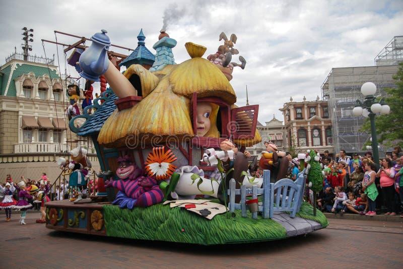 χώρα των θαυμάτων της Alice στοκ εικόνες