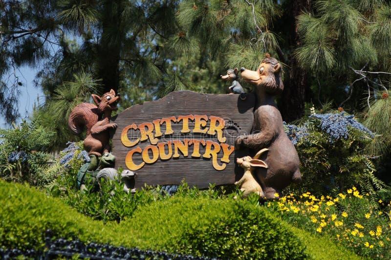 Χώρα Critter σε Disneyland στοκ εικόνες
