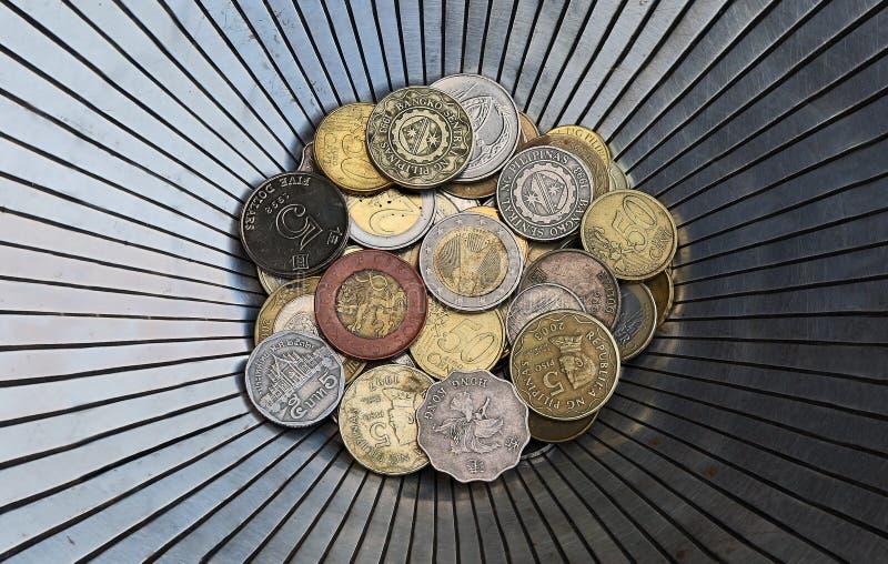 χώρες νομισμάτων διαφορε& στοκ φωτογραφίες