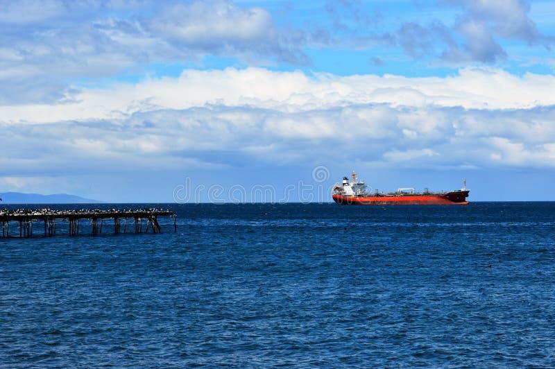 Χώροι Punta στενών Magellan, Χιλή στοκ φωτογραφίες