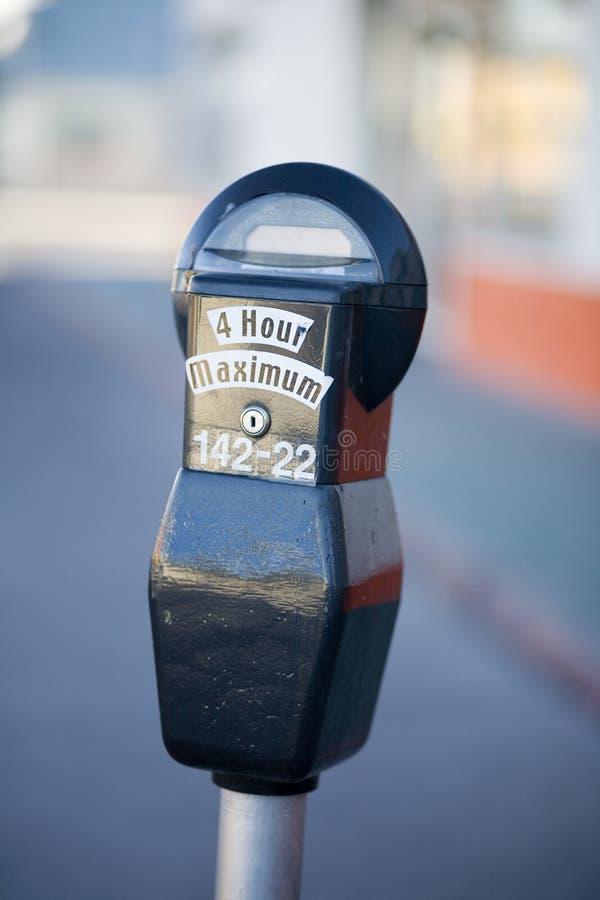 χώρος στάθμευσης μετρητών στοκ φωτογραφία με δικαίωμα ελεύθερης χρήσης