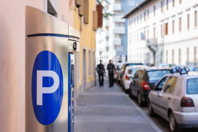 Χώρος στάθμευσης μηχανών στοκ φωτογραφίες με δικαίωμα ελεύθερης χρήσης