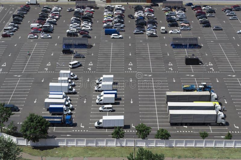 Χώρος στάθμευσης στοκ εικόνα