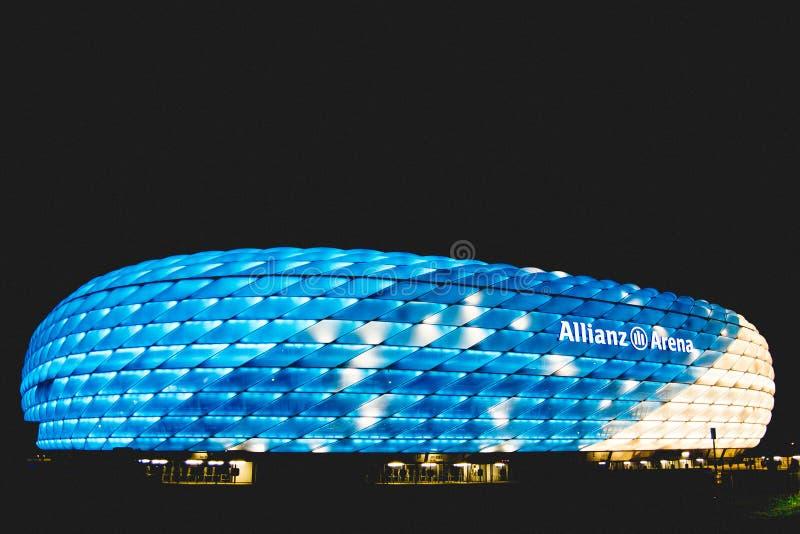 Χώρος Allianz στοκ φωτογραφία με δικαίωμα ελεύθερης χρήσης
