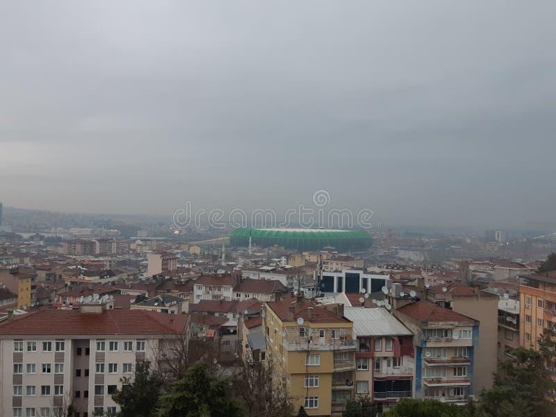 Χώρος Timsah χώρων αθλητικών λεσχών Bursaspor στοκ εικόνα