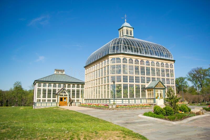 Χ Π Θερμοκήπιο και βοτανικοί κήποι Rawlings Druid στην ισοτιμία Hill στοκ φωτογραφία με δικαίωμα ελεύθερης χρήσης