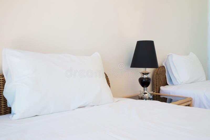 Ψάθινο κρεβάτι ινδικού καλάμου στοκ φωτογραφία με δικαίωμα ελεύθερης χρήσης