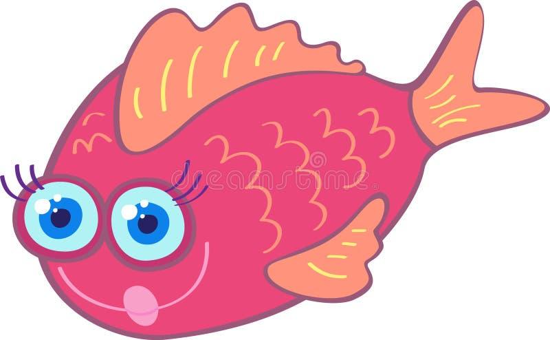 ψάρια αστεία απεικόνιση αποθεμάτων